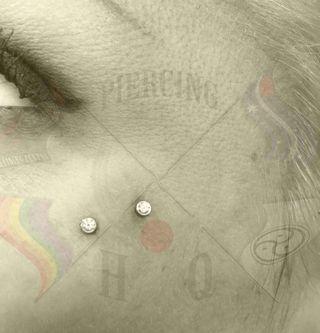 PHQP AntiEyebrow Surface Piercing Cz wtmk
